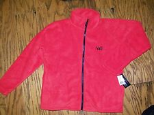 WFS Element Gear Full Zip Fleece Jacket Size S Black Vail Colorado Men's Red
