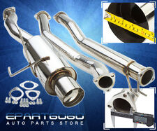 JDM N1 CATBACK EXHAUST MUFFLER SYSTEM FOR 01 02 03 04 05 HONDA CIVIC 1.7L VTEC