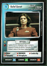 STAR TREK CCG ALTERNATE UNIVERSE RARE CARD RACHEL GARRETT