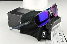 NEW OAKLEY Sunglasses TINFOIL Carbon / Positive Red Iridium OO6018-03