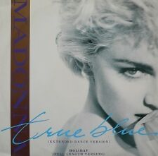 MADONNA True Blue (Extended Dance Version) Vinyl 12 Inch Sire W 8550 (T) 1986 EX