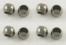 500 x 2mm Gun Metal Crimp Beads - Small Crimps - Spacer Beads - NF SP60
