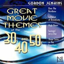 Great Movie Themes of the 30's 40's & 50's by Jenkins, Gordon