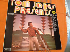 TOM JONES PRESENTS - Orig.1970 Aus Only Vinyl Lp DECCA TVS 5 - 16 tracks - EXC
