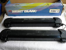 MONT BLANC ROOF RACK LOCKING SKI ARMS 4 PAIR  BRAND NEW ONLY  $199 3 Year WTY