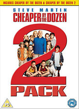 CHEAPER BY THE DOZEN / CHEAPER BY THE DOZEN 2 - DVD - REGION 2 UK