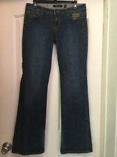 ED HARDY 145 98% Cotton Blue Boot Cut Jeans Size 31