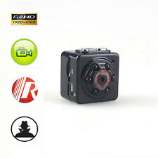 FULL HD 1080P Mini Cam Spy Hidden Motion Detector Night Vision Camera IR DVR New