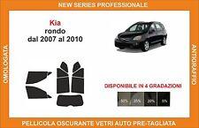 pellicola oscurante vetri pre-tagliata Kia rondo dal 2007-2010 kit completo