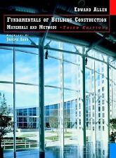 Fundamentals of Building Construction: Materials and Methods-ExLibrary