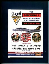 VOLUME 3 GRUMMAN F-14 TOMCAT JAPAN US NAVY VF- Fighter Squadron Patch Book
