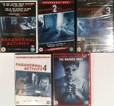 PARANORMAL ACTIVITY QUADRILOGY [1,2,3,4] & THE MARKED ONES Occult Horror DVD EXC