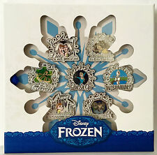 DISNEY 2015 D23 EXCLUSIVE THE MUSIC OF FROZEN PIN SET OF 7 LE 500 ELSA ANNA OLAF