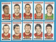 cigarette/trade cards - MOSCOW MAGIC - MANCHESTER UNITED CHAMPIONS LEAGUE 2008