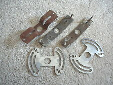5 -  VINTAGE SALVAGED ELECTRIC CEILING LIGHT FIXTURE MOUNTING BRACKETS HARDWARE