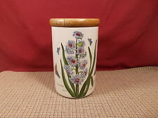 Portmeirion China Botanic Garden Storage Jar Eastern Hyacinth 7""