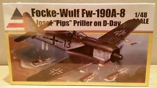 ACCURATE MINIATURES MPN 0402 FOCKE-WULF FW-190A-8 1/48 SCALE MODEL AIRPLANE KIT