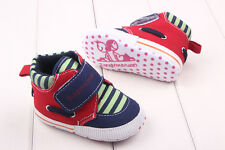 Toddler Newborn Infant Prewalkers Trainers Baby Boys Crib First Shoes DB2175