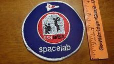 NASA ESA NASA SPACELAB  SPACE PATCH BX A #49