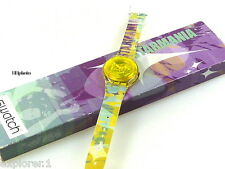 "SWATCH: SPECIAL EDITION DES SENDERS ORF ""4 STARS ONLY"" (MOONSTRUCK) *NEU/ RAR!*"