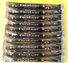 Lot of 8 Blue Cyalume Tactical Light Sticks Emergency Survival Prepper Camping