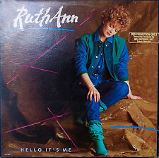 RUTH ANN: Hello It's Me-M1984LP EMBOSSED COVER PROMO JD SOUTHER/TIMOTHY SCHMIDT