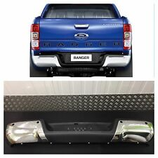 FORD RANGER REAR BUMPER 2012-ONWARDS WITH PDC HOLES