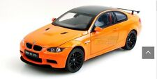 KDW BMW M3 GTS E92 1/18 Orange Diecast Car Model V570