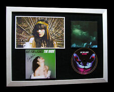 BAT FOR LASHES+SIGNED+FRAMED+BRIDE+HAUNTED+HOUSE=100% AUTHENTIC+FAST GLOBAL SHIP