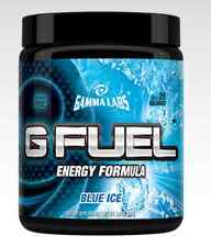 GAMMA LABS G FUEL BLUE ICE 40 SERVINGS NATURAL ENERGY DRINK G FUEL GFUEL