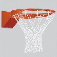 Universal Indoor Outdoor Sport Replacement Basketball Net Hoop Goal Rim White