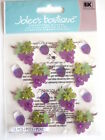 JOLEE'S BOUTIQUE STICKERS - WINE GLASS & GRAPES REPEATS