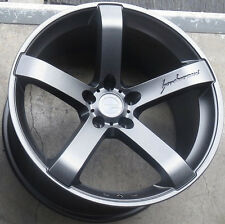 "19"" MRR VP5 Wheels For Lexus IS250 IS350 19x8.5 / 19x9.5 Inch Gunmetal Rims Set"