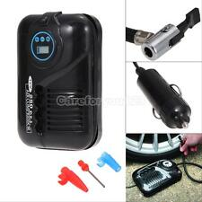12V Mini Travel Portable Digital DC Electric Air Compressor 250PSI Car Tyre Pump