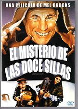 DVD El misterio de las doce sillas, de Mel Brooks. Divertidísima comedia.