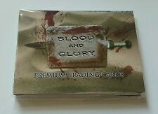 Asylum Studios Blood & Glory Complete Trading Card Set