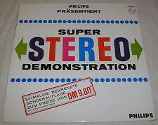 Philips présente: super stéréo démonstration-vinyl LP ALBUM