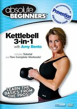 ABSOLUTE BEGINNERS: KETTLEBELL 3-IN-1 WITH AMY BENTO - DVD - Region Free