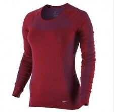 Nike Dri Fit Knit Running Gym Top Women's Uk Large (718582 458)