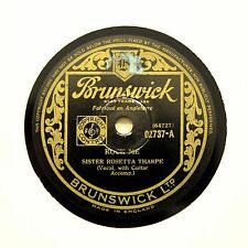 "SISTER ROSETTA THARPE ""Rock Me / Lonesome Road"" BRUNSWICK 02737 [78 RPM]"