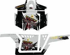 RACING DECALS GRAPHICS KIT 2011 POLARIS RANGER RZR 900XP pro doors rock star