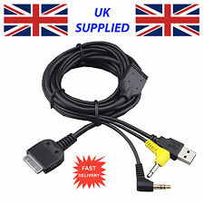 Latest for KENWOOD KCA-IP301V IPOD IPHONE Cable FOR KVT-522DVD Cable Replacement