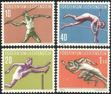 Liechtenstein 1956 Javelin/Pole Vault/Athletics/Sports/Games 4v set (n44775)