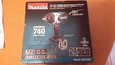 "NEW Makita XWT08Z 18V LXT Li-Ion Brushless 1/2"" Square Drive Impact (Tool Only)"
