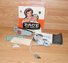 Vintage Pace De Luxe Home Barber Kit Clippers No. 126 By Wahl **READ**