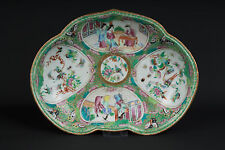 China 19. Jh. Schale - A Chinese Canton Porcelain Dessert Dish - Cinese Chinois