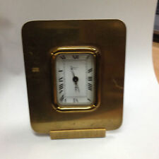 vintage clock pendulette réveil Romanet Paris fonctionne mais a réviser