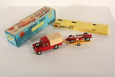 Corgi Toys Gift Set 17, Land-Rover with Ferrari Racing Car, Mint in Box   #ab666