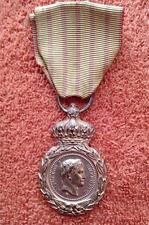 French Napoleonic Saint Helena Medal for 1792-1815 Campaigns, Issued 1857 France