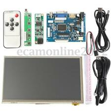 7'' HDMI HD 1024x600 Touch Screen Display Module Board Kit Set For Raspberry Pi